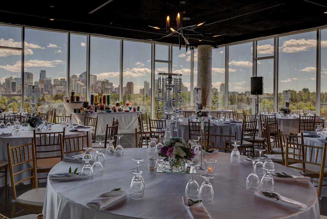 Wedding Venue In Calgary Skyline Room For Weddings